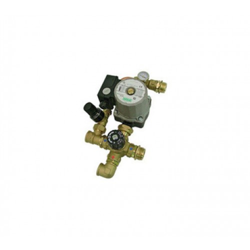 BARBERI Комплект для насосной группы с термостатическим клапаном и байпасом; Grundfos UPSO 25-65 130